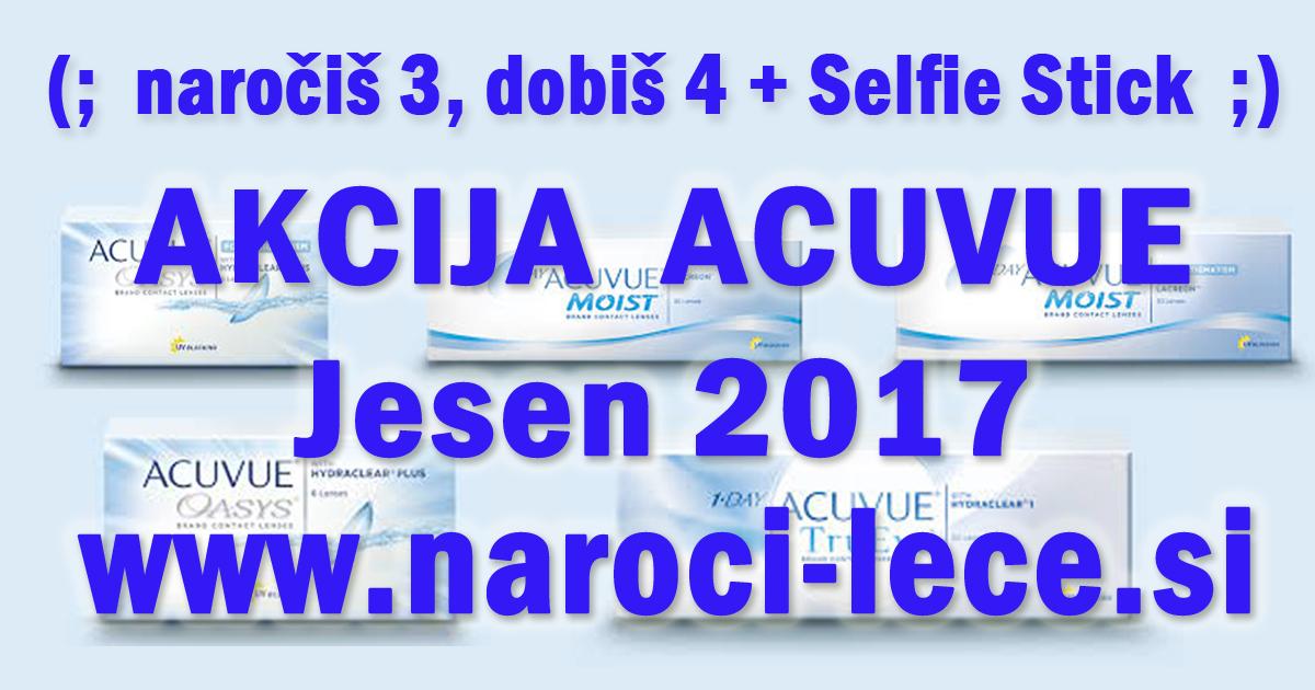 Akcija Kontaktne leče Acuvue jesen 2017